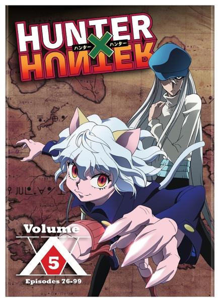Hunter X Hunter Set 5 DVD