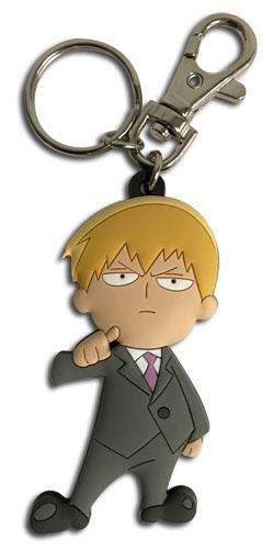 Arataka Reigen Mob Psycho 100 PVC Keychain
