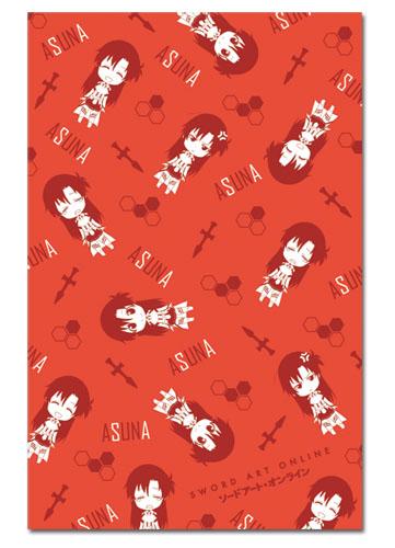 Chibi Asuna Sword Art Online Red Scarf