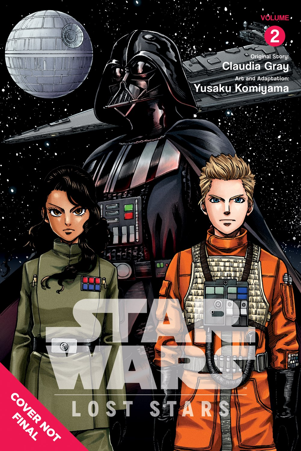 Star Wars Lost Stars Manga Volume 2