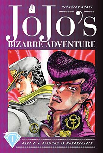 JoJos Bizarre Adventure Part 4 Diamond is Unbreakable Manga Volume 1 (Hardcover)