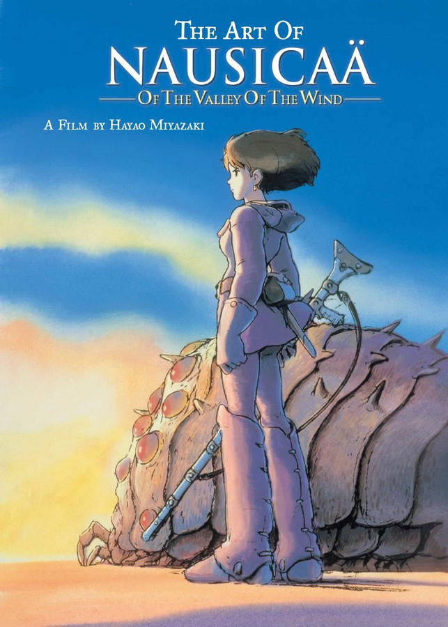 The Art of Nausicaa of the Valley of the Wind Artbook (Hardcover)