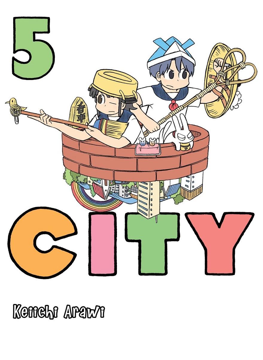 CITY Manga Volume 5