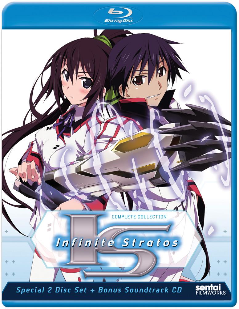 Infinite Stratos + Encore Blu-ray