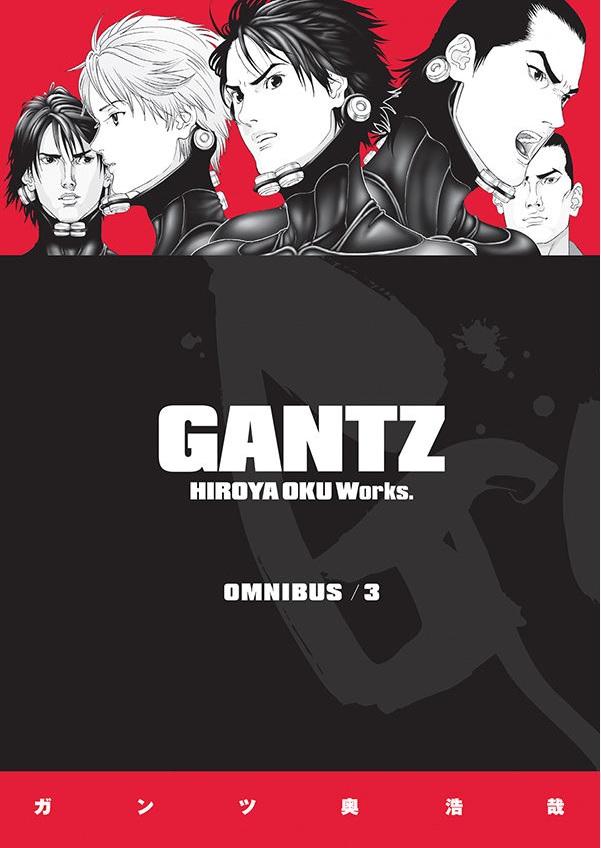 Gantz Manga Omnibus Volume 3