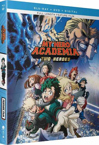 My Hero Academia Two Heroes Blu-ray/DVD + GWP