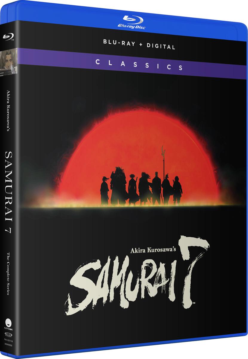 Samurai 7 Complete Series Classics Blu-ray