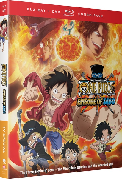 One Piece Episode of Sabo Blu-ray/DVD