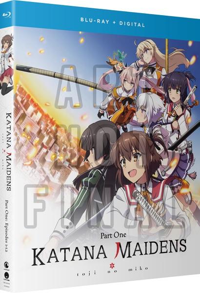 Katana Maidens Toji No Miko Part 1 Blu-ray