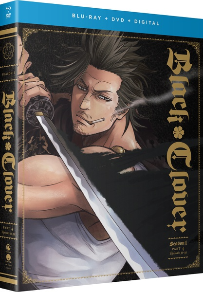Black Clover Season 1 Part 4 Blu-ray/DVD