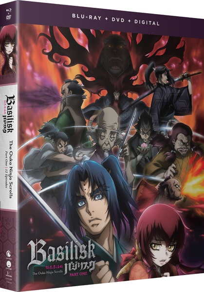 Basilisk The Ouka Ninja Scrolls Part 1 Blu-ray/DVD