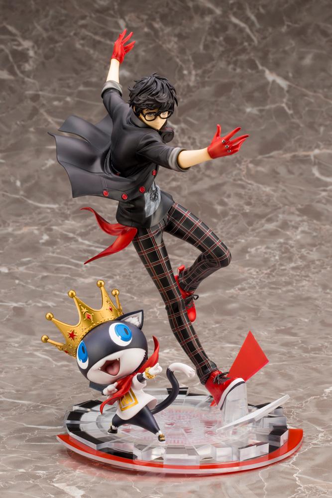 Hero and Morgana Persona 5 Dancing Star Night ARTFX J Figure