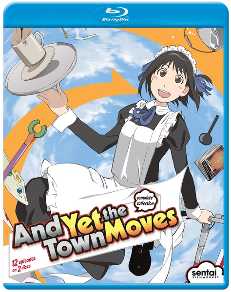 And Yet the Town Moves Blu-ray