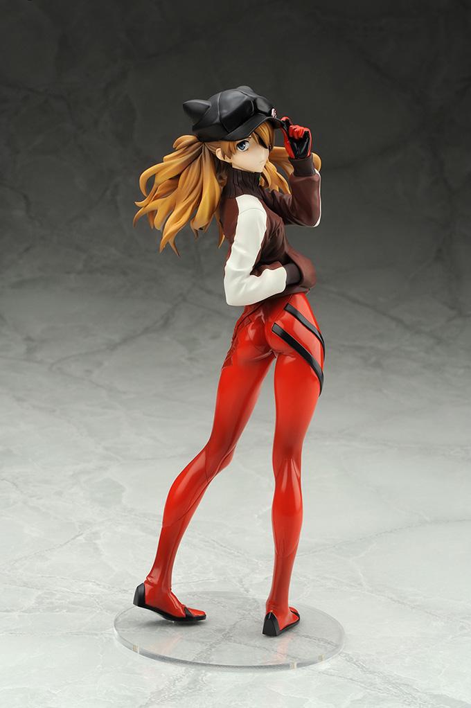 Asuka Langley Shikinami Jersey Ver Evangelion Figure