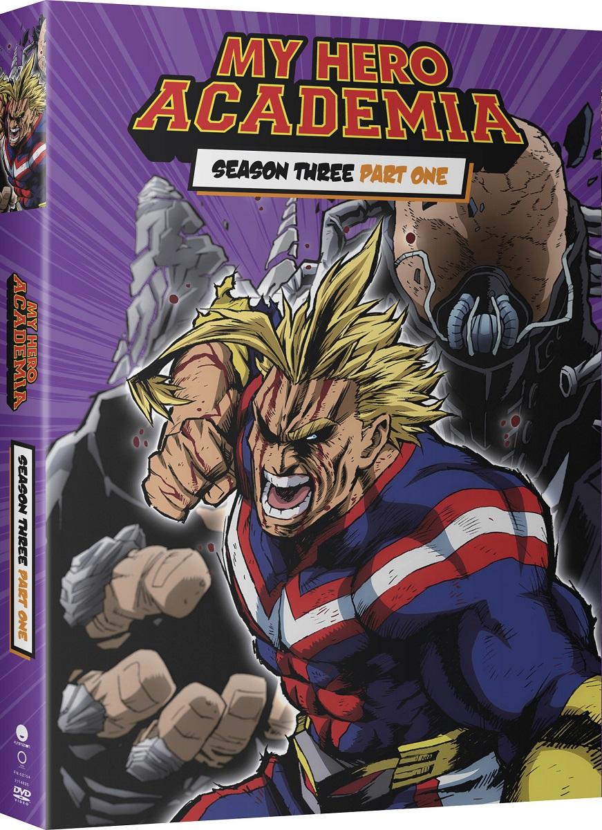 My Hero Academia Season 3 Part 1 DVD