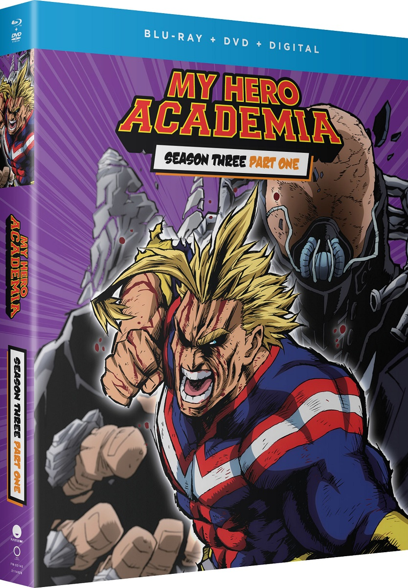 My Hero Academia Season 3 Part 1 Blu-ray/DVD