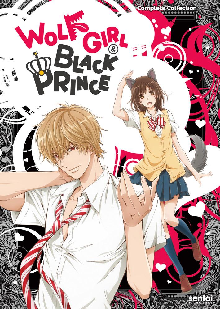 Wolf Girl & Black Prince DVD