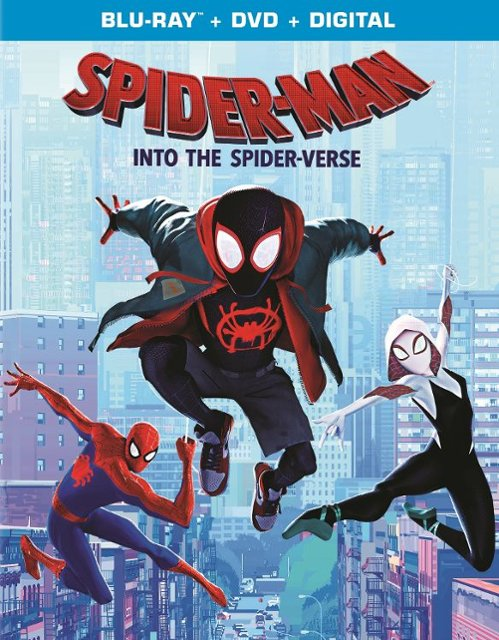 Spider-Man Into The Spider-Verse Blu-ray/DVD