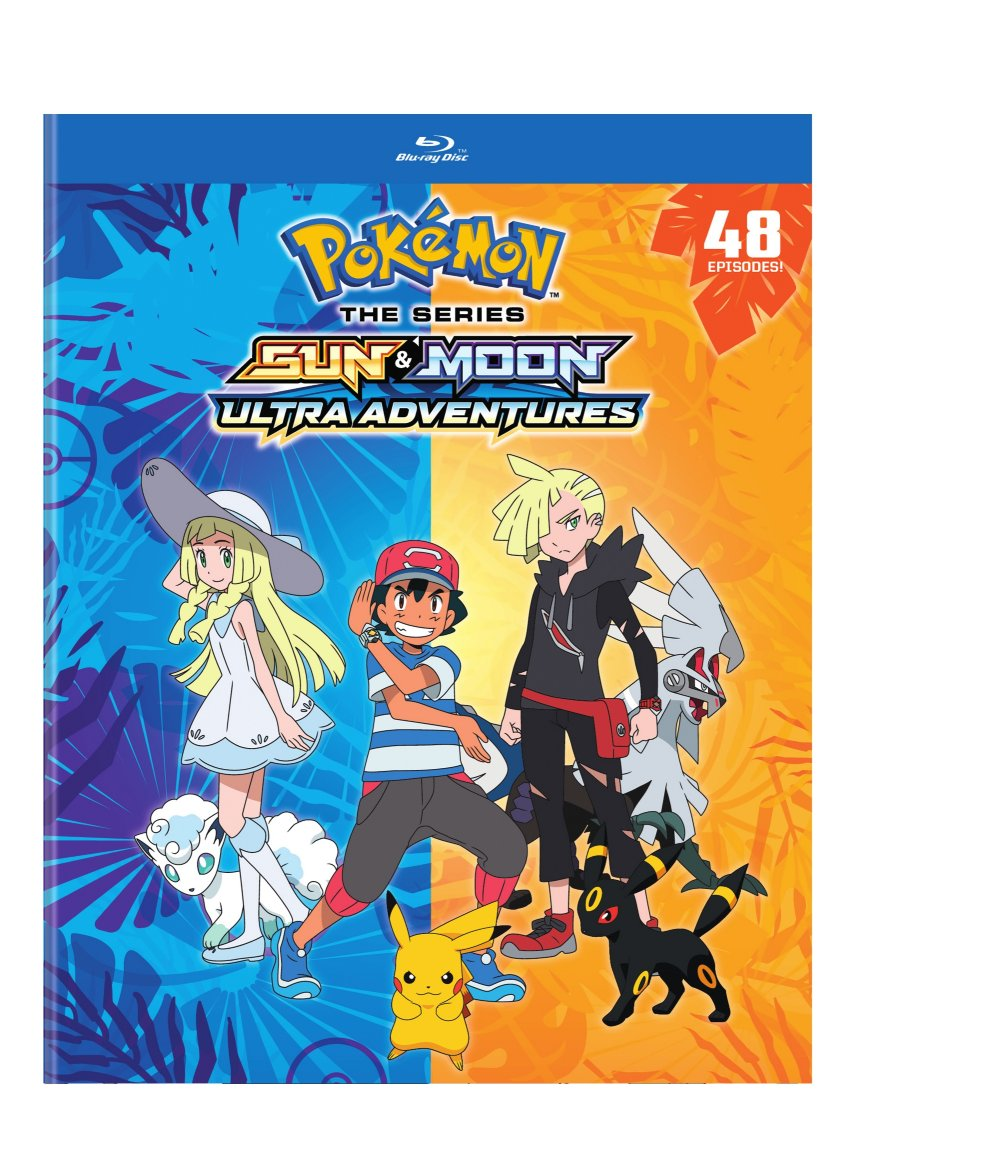 Pokemon Sun & Moon Ultra Adventures Blu-ray