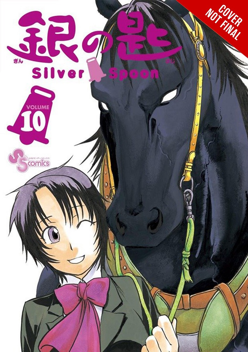 Silver Spoon Manga Volume 10