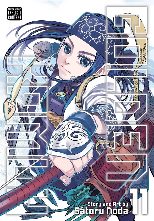 Golden Kamuy Manga Volume 11
