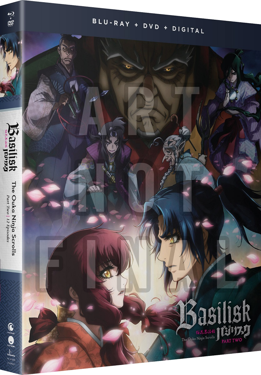 Basilisk The Ouka Ninja Scrolls Part 2 Blu-ray/DVD