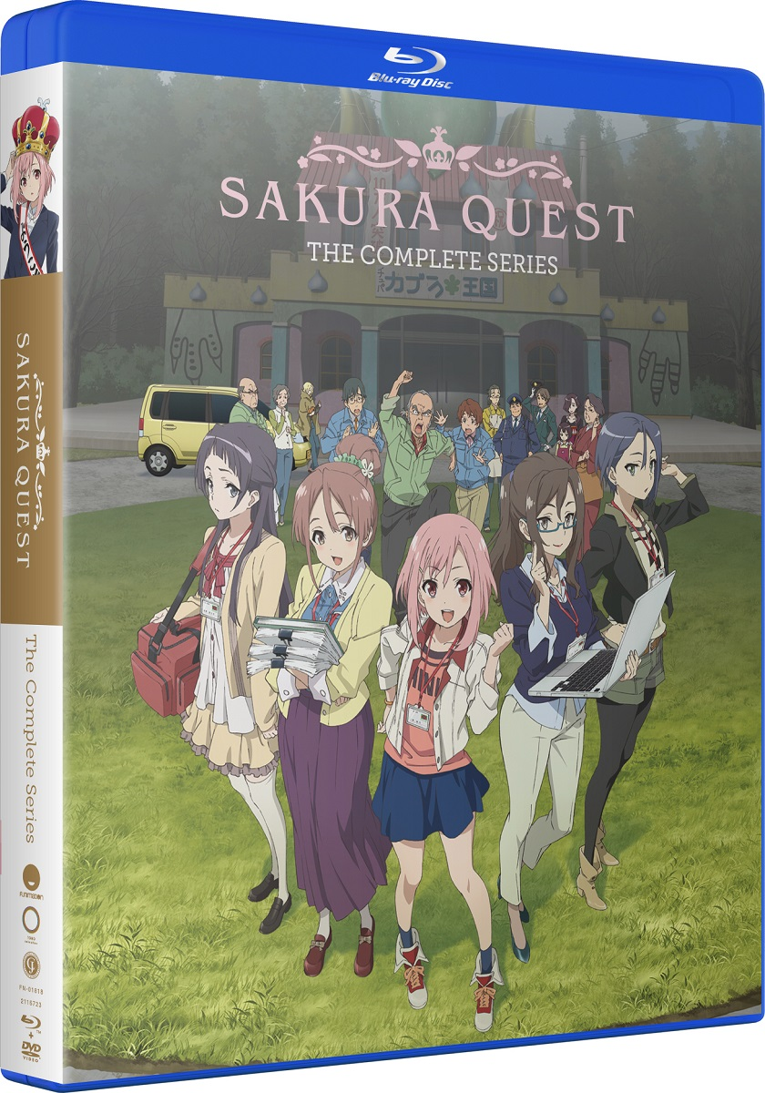 Sakura Quest Complete Series Blu-ray