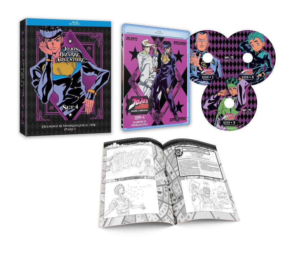 JoJos Bizarre Adventure Set 4 Limited Edition Blu-ray