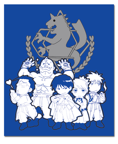 State Military Fullmetal Alchemist Throw Blanket