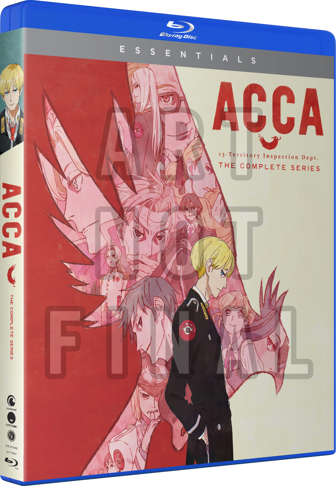 ACCA 13 Territory Inspection Dept Essentials Blu-ray
