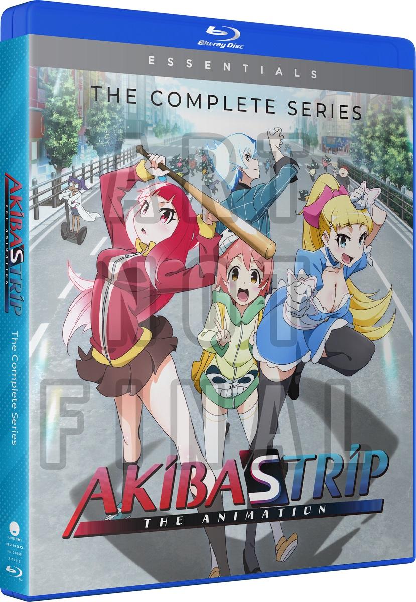 Akibas Trip Essentials Blu-ray