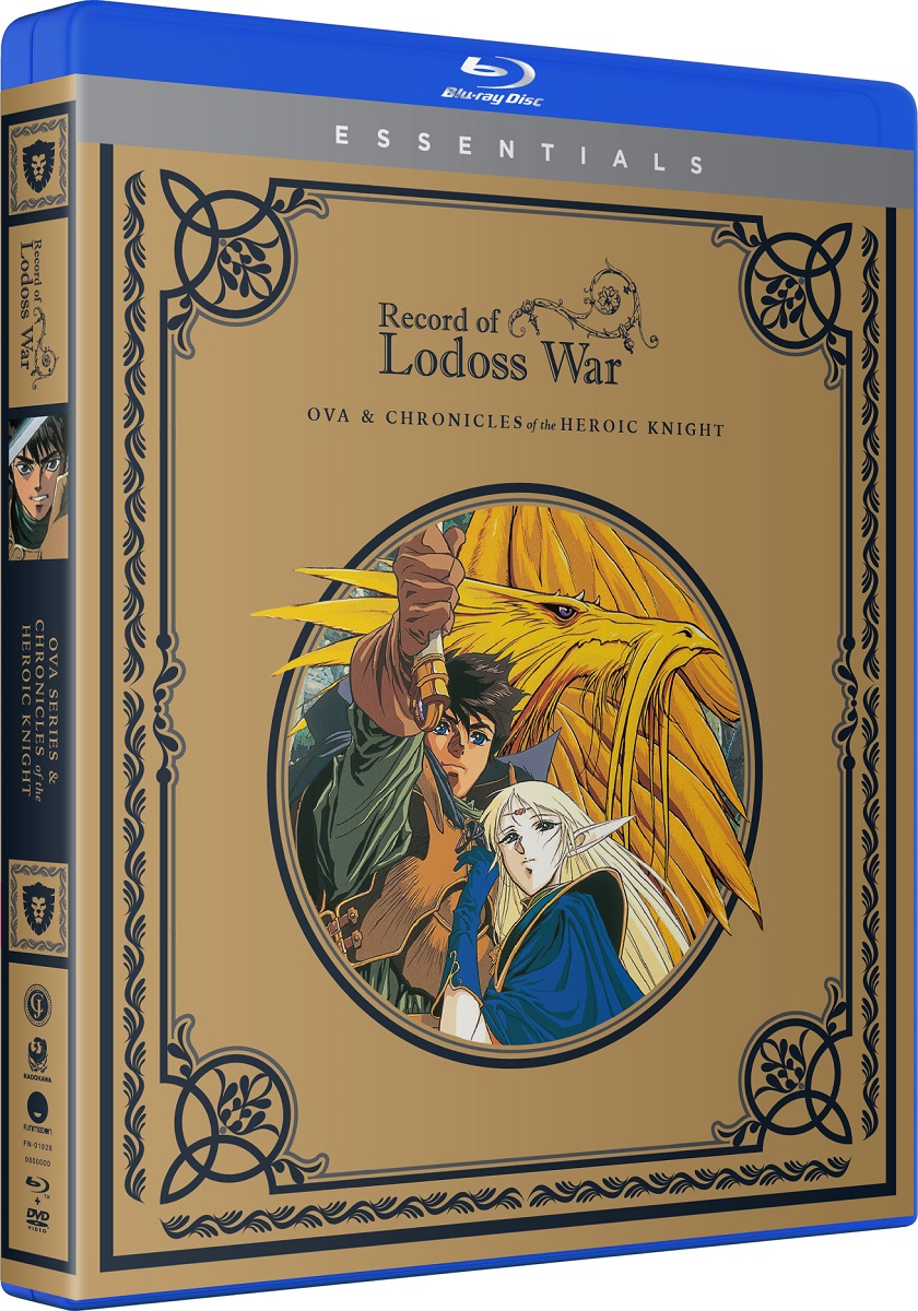 Record Of The Lodoss War OVA + Chronicles of a Heroic Knight Essentials Blu-ray/DVD