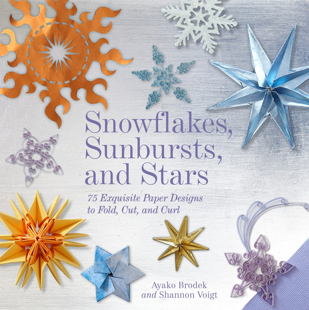 Snowflakes Sunbursts and Stars (Color)