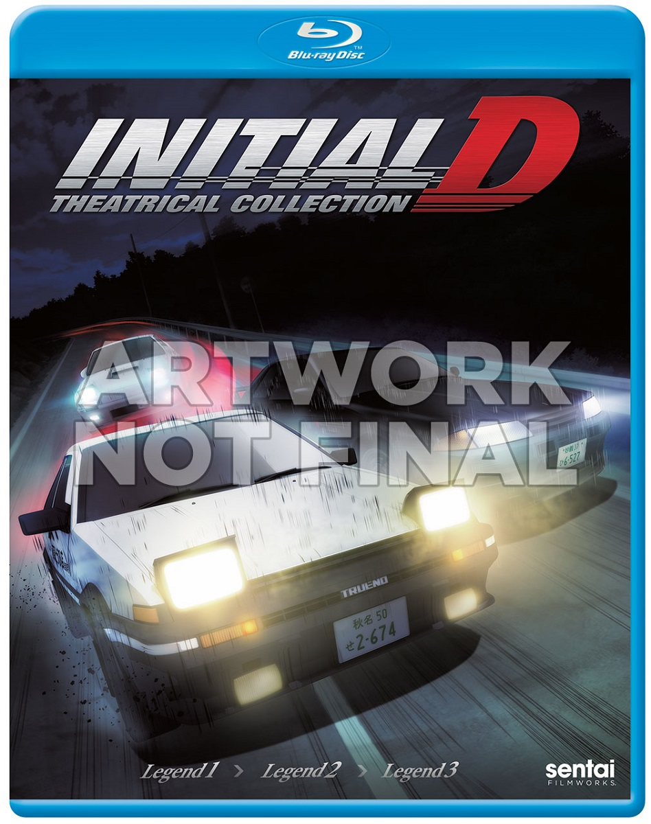 Initial D Legend Theatrical Collection Blu-ray