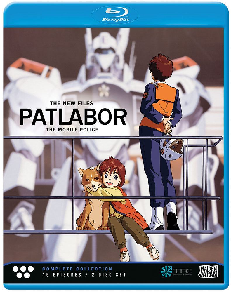 Patlabor The New Files (2/1990) Complete Collection Blu-ray