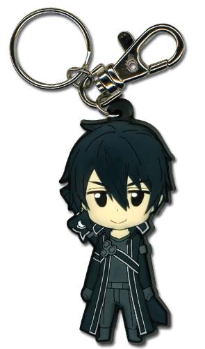 Kirito Sword Art Online PVC Keychain