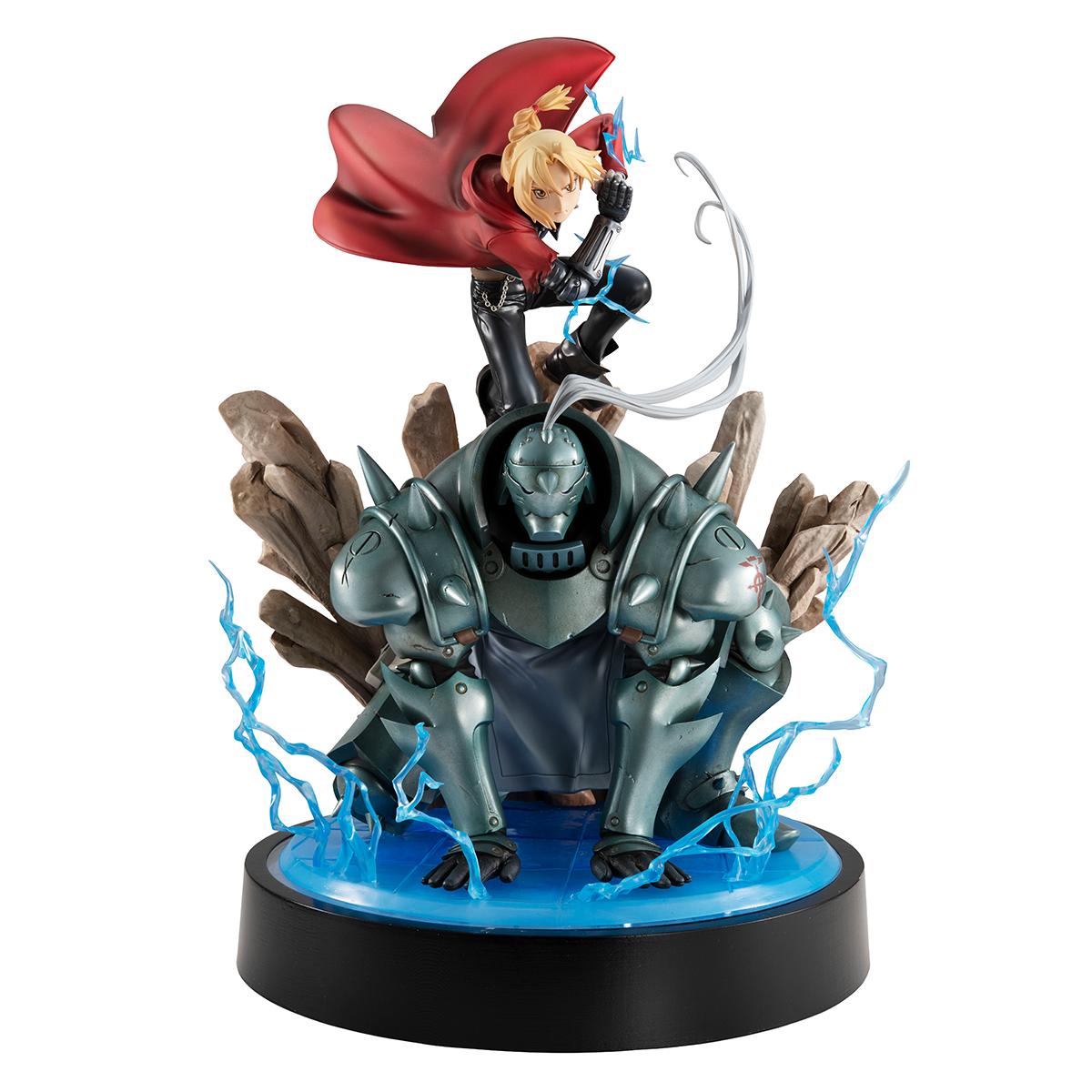 Edward & Alphonse Elric Fullmetal Alchemist Precious GEM Figure