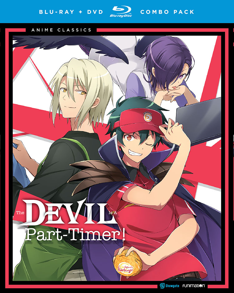 The Devil is a Part Timer Blu-ray/DVD Anime Classics