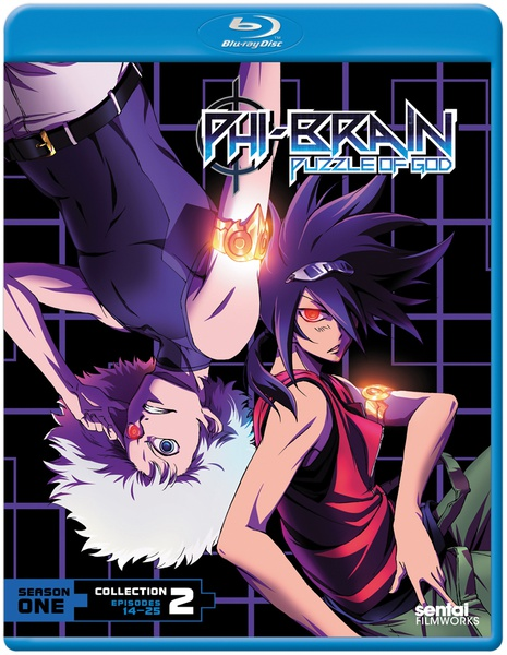 Phi-Brain The Puzzle of God Season 1 Collection 2 Blu-ray