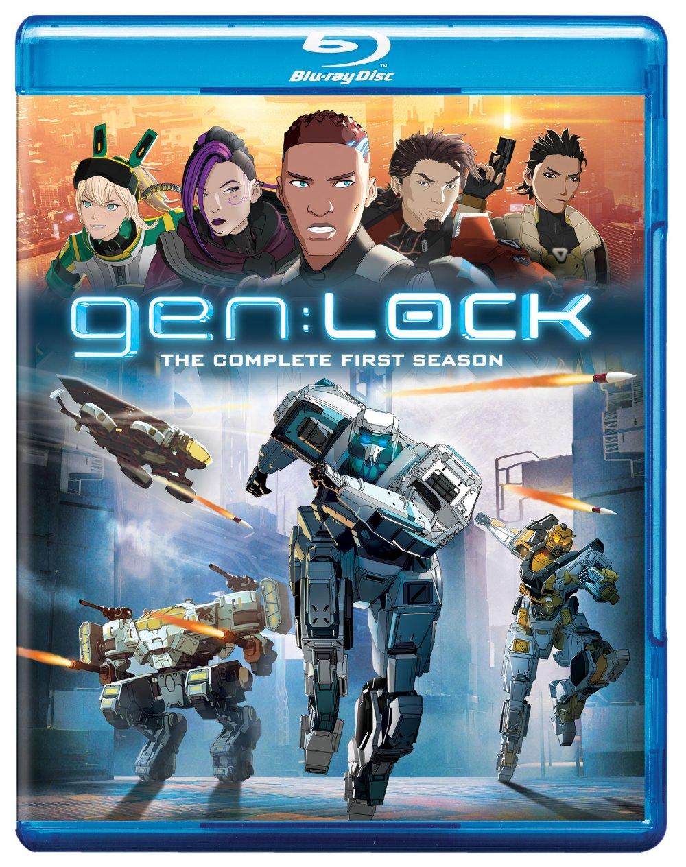 gen:LOCK Complete First Season Blu-ray