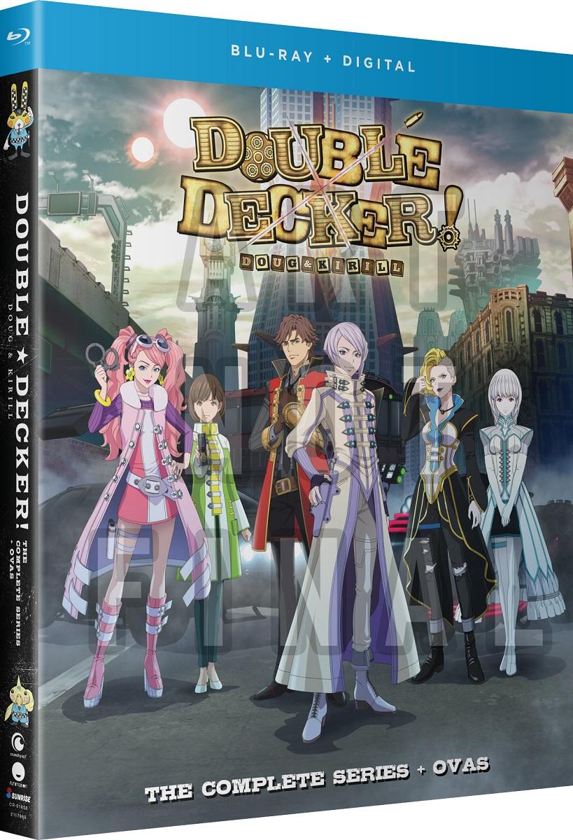 Double Decker! Doug & Kirill + OVAs Blu-ray