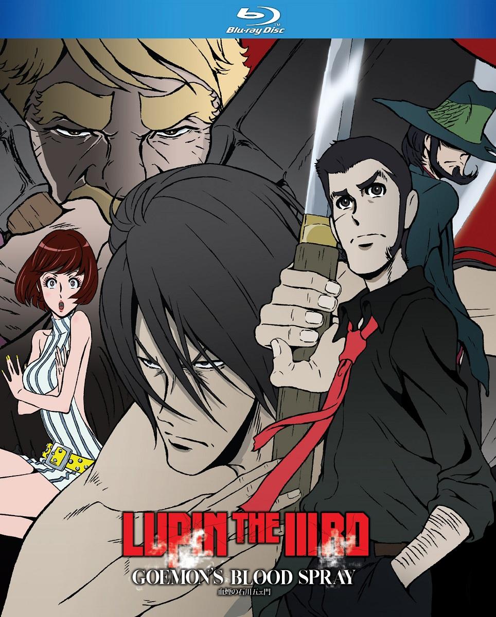 Lupin the 3rd Goemons Blood Spray Blu-ray
