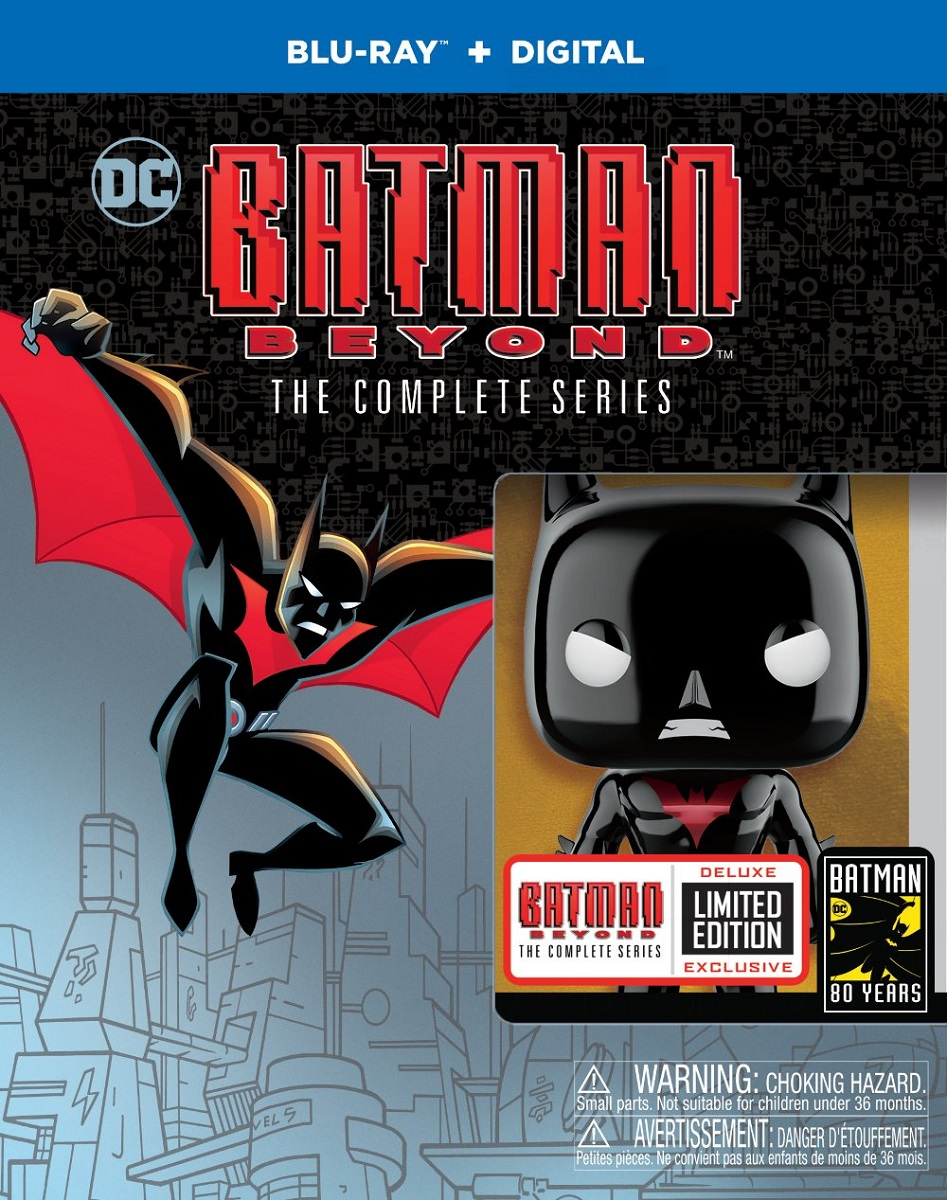 Batman Beyond The Complete Series Deluxe Limited Edition Blu-ray