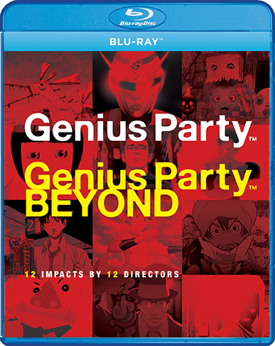 Genius Party & Genius Party Beyond Blu-ray