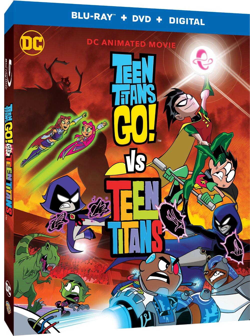 Teen Titans Go! Vs Teen Titans Blu-ray/DVD