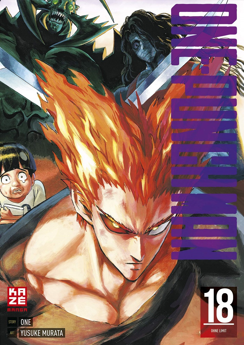 One-Punch Man Manga Volume 18