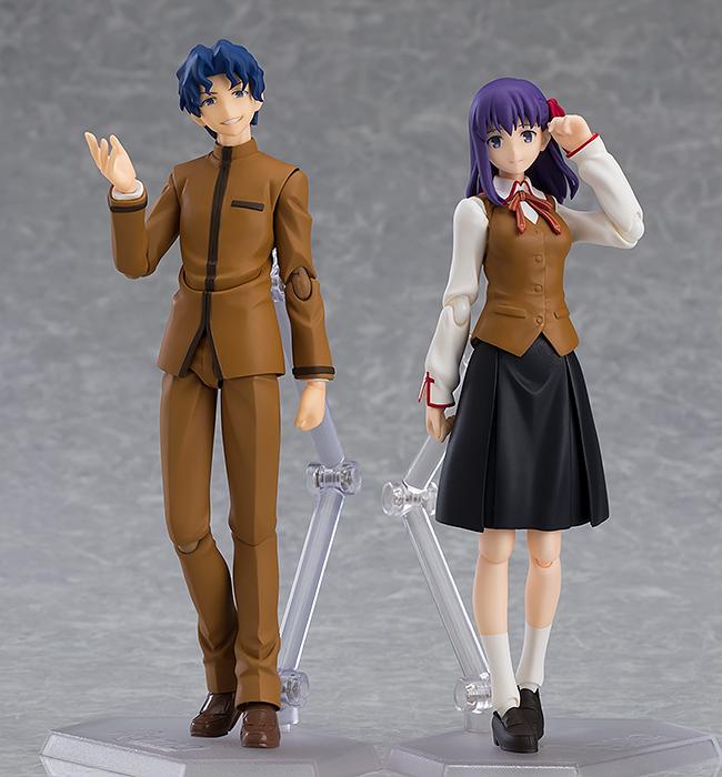 Shinji & Sakura Matou Fate/Stay Night Heavens Feel Figma Figures