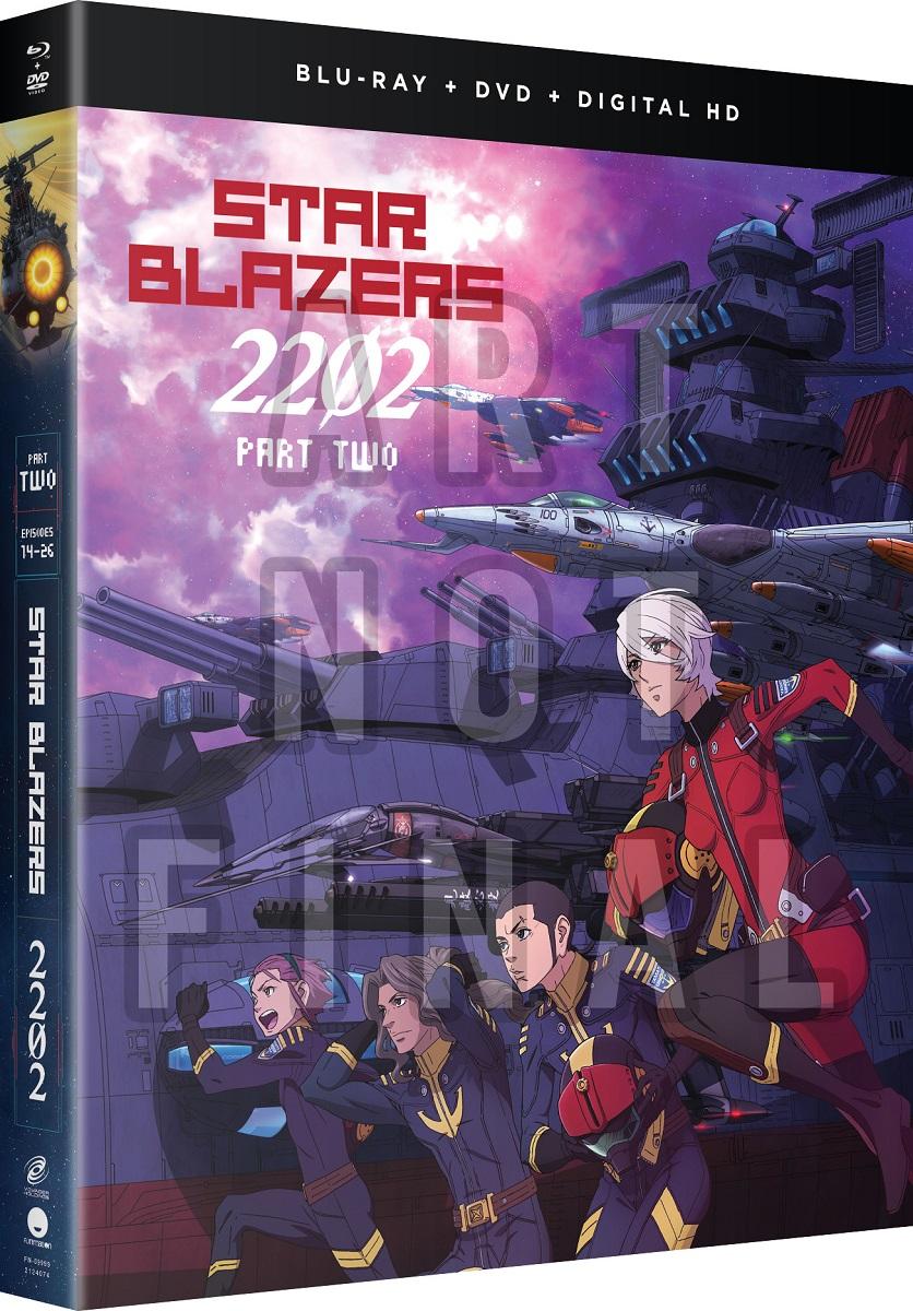 Star Blazers Space Battleship Yamato 2202 Part 2 BD/DVD