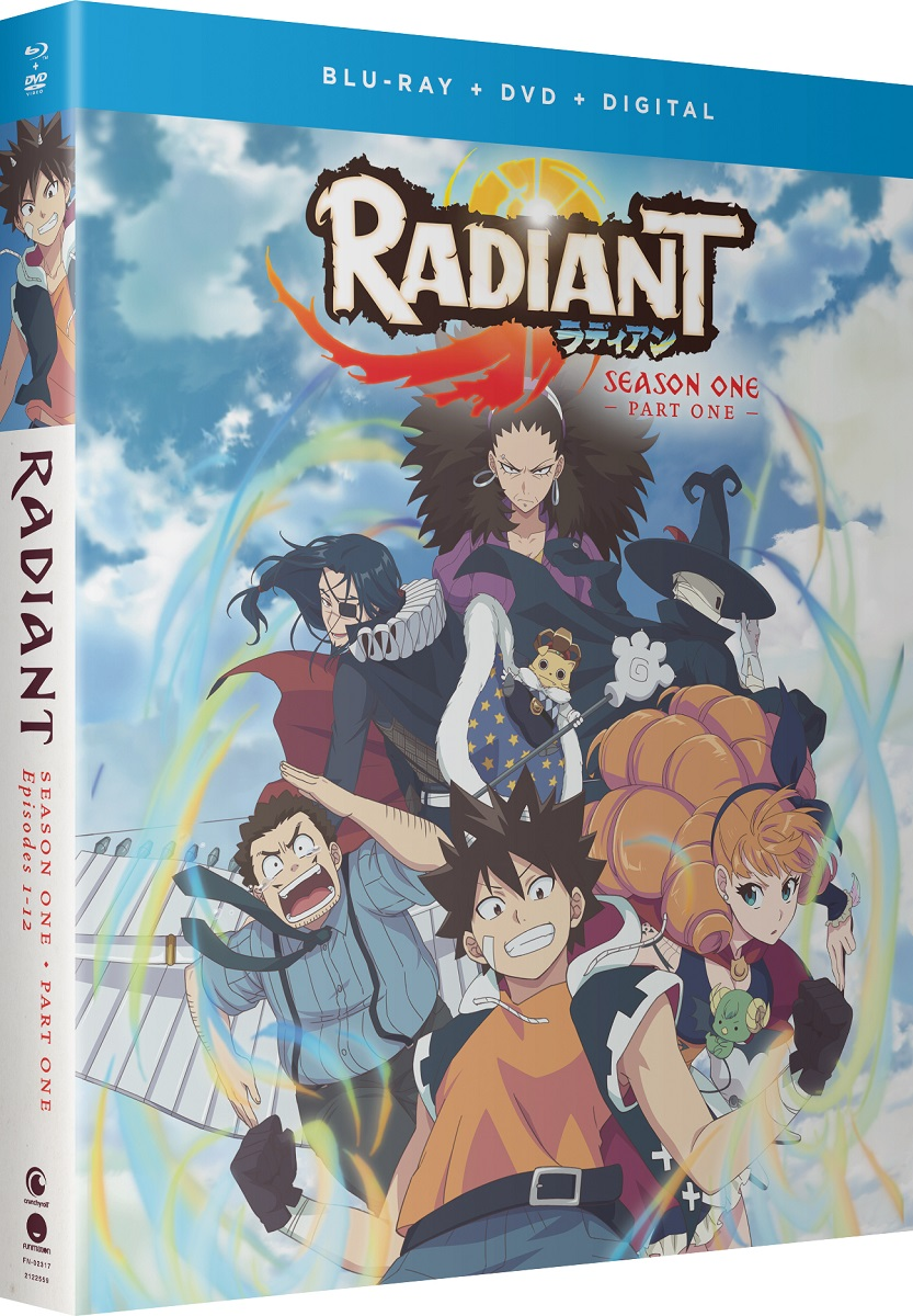 Radiant Season 1 Part 1 Blu-ray/DVD