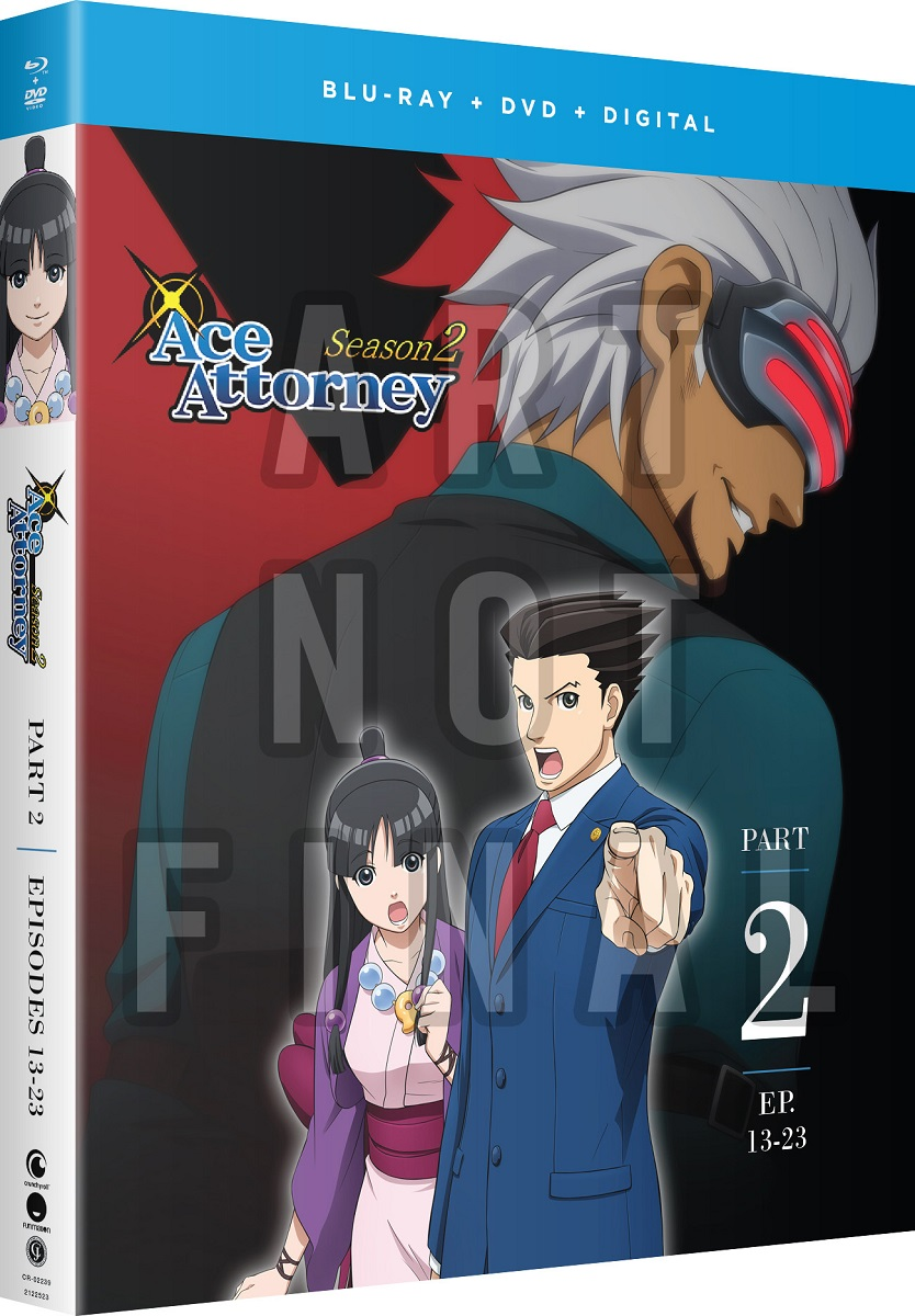Ace Attorney Season 2 Part 2 Blu-ray/DVD